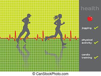 здоровье, concept:, физическая