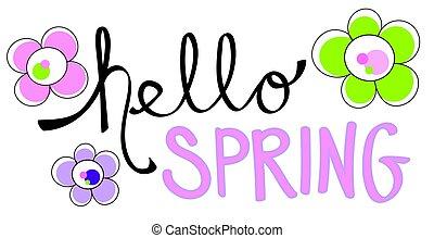 здравствуйте, весна