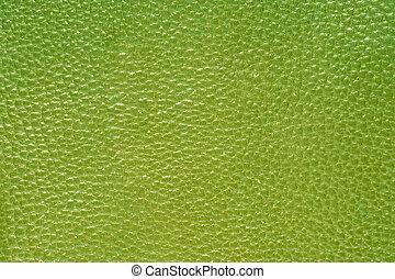 зеленый, кожа