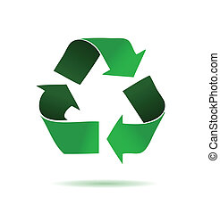 зеленый, переработка