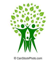 зеленый, семья