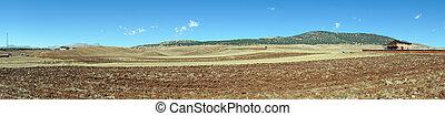 земельные участки, plowed