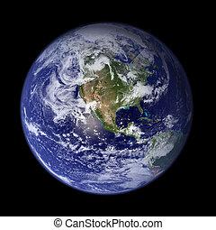 земля, америка, -