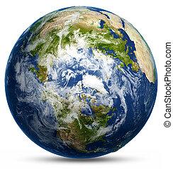 земля, земной шар, карта