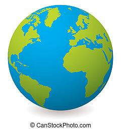 земля, земной шар, натуральный