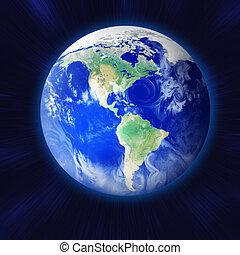 земля, пространство