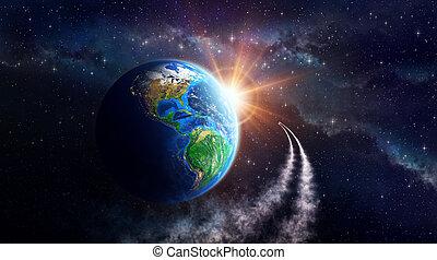 земля, фантазия