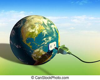 земля, энергия