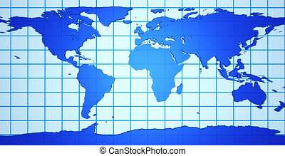 земля, 3d, карта