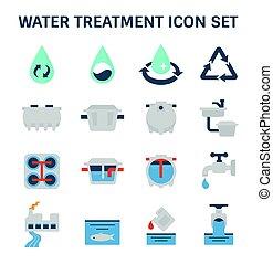 значок, лечение, воды