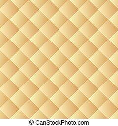 золотой, кожа, pattern., бесшовный, текстура, background., вектор