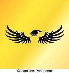золотой, орел, герб