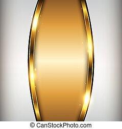 золото, задний план, абстрактные