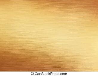 золото, щеткой