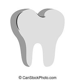 зубоврачебный, зуб, символ, забота