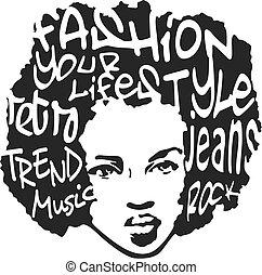 изобразительное искусство, мода, дизайн, поп, человек