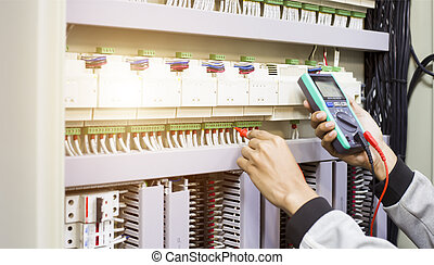 инженер, основа, электрический, tests, операция, регулярный, кабинет, контроль, электрический, maintenance.