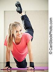 инструктор, фитнес