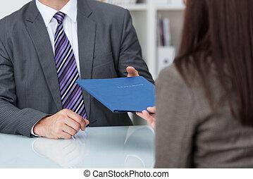 интервью, занятость