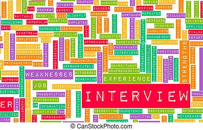 интервью, работа