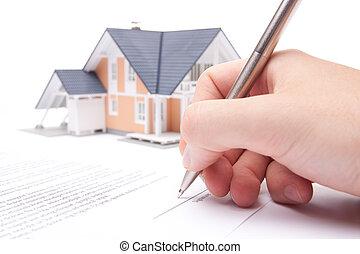 ипотека, контракт