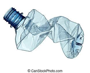 используемый, окружающая среда, экология, бутылка, мусор, пустой