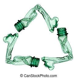 используемый, env, экология, бутылка, мусор, пустой
