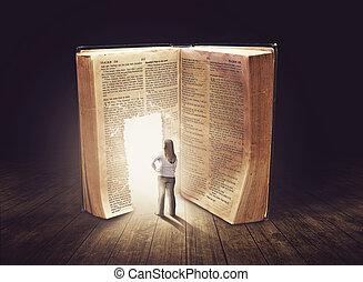 ищу, большой, женщина, книга