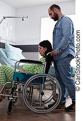 кавказец, инвалидная коляска, женщина, беременность, человек, помощь
