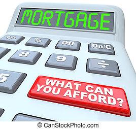 какие, ипотека, позволить себе, калькулятор, -, можно, words, вы