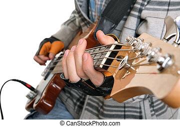 камень, руки, музыкант