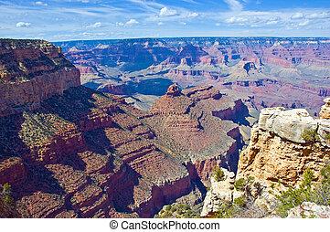 каньон, большой