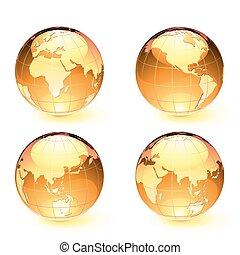 карта, земля, globes, глянцевый