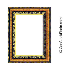 картина, рамка, белый, isolated, задний план