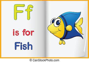 картина, рыба, книга