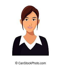 карьера, бизнес-леди, работа, профессиональный