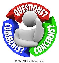 клиент, поддержка, comments, диаграмма, проблемы, questions