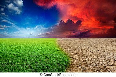 климат, изменение