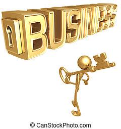 ключ, бизнес