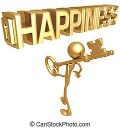 ключ, счастье