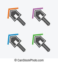 ключ, icons