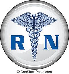 кнопка, зарегистрированный, медсестра