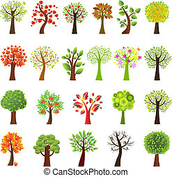 коллекция, trees