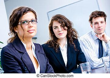 команда, бизнес, люди