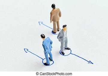команда, наемный рабочий, firing, концепция, фирма
