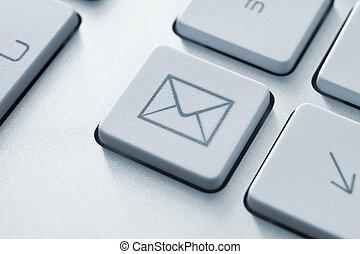коммуникация, кнопка, эл. адрес, интернет