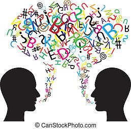 коммуникация, символ