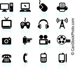 коммуникация, технологии, elements, дизайн