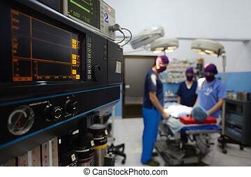комната, медицинская, клиника, в течение, хирургия, операция, сотрудники