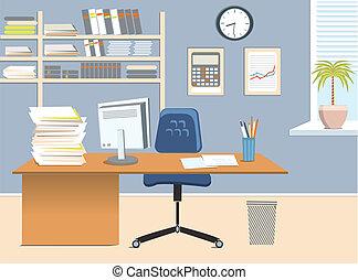 комната, офис
